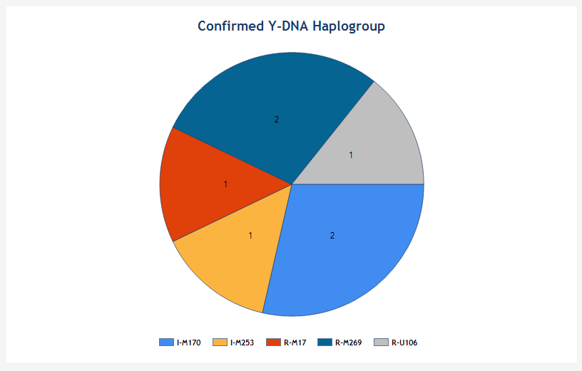 Confirmed Goetzman Y-DNA Haplogroup